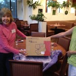 Cathie and Joy